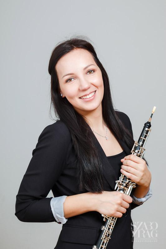zenész portré Eszter